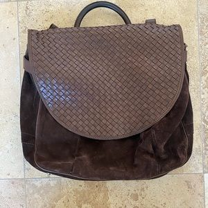 Vintage Bottega Veneta messenger bag
